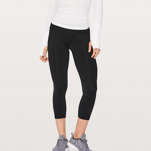 95b4eeea40e0c lululemon athletica Pants | Lulu Lemon Cropped Leggings | Poshmark